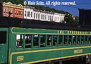Historic Stourbridge Railroad and Victorian architecture, Honesdale, Wayne Co., PA
