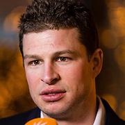 NLD/Amsterdam/20170315 - Inloop verkiezing  schaatser van het jaar 2017, Sven Kramer