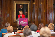 Lesley Abdela Chairs the VSO's Godmothers event. Campaigners gathered to ensure the Government gives substantial financial support to UN Women, putting an end to discrimination against women around the world.
