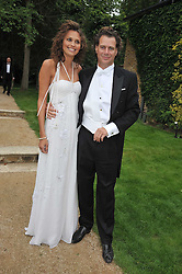 OLIVIA COLE and RICHARD HAINES at the Raisa Gorbachev Foundation fourth annual fundraising gala dinner held at Stud House, Hampton Court, Surrey on 6th June 2009.