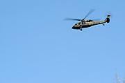 Amerikaanse Militaire helikopters boven Zaanstad. Volgens een woordvoerder van Nationaal Co&ouml;rdinator Terrorismebestrijding en Veiligheid (NCTV) zijn de Amerikanen zich in overleg met de Nederlandse autoriteiten aan het voorbereiden op mogelijk vervoer (vanb Obama) tijdens de nucleaire top.<br /> <br /> American Military helicopters above Zaanstad. According to a spokesman for the National Coordinator for Counterterrorism and Security (NCTV) the Americans are in consultation with the Dutch authorities to prepare for possible transport (of Obama) during the nuclear summit.<br /> <br /> Op de foto / On the photo:  Amerikaanse helikopters / U.S. helicopters