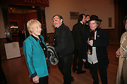 TORY LAURENCE, JOSEPH SONNABAND AND MAGGI HAMBLING, 'The Unknown Monet: Pastels and Drawings. Royal Academy. London. 13 March 2007.  -DO NOT ARCHIVE-© Copyright Photograph by Dafydd Jones. 248 Clapham Rd. London SW9 0PZ. Tel 0207 820 0771. www.dafjones.com.