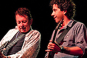 Joe Ely performs with David Grissom at the Old Settler's Music Festival in Driftwood, Texas, April 16, 2010.