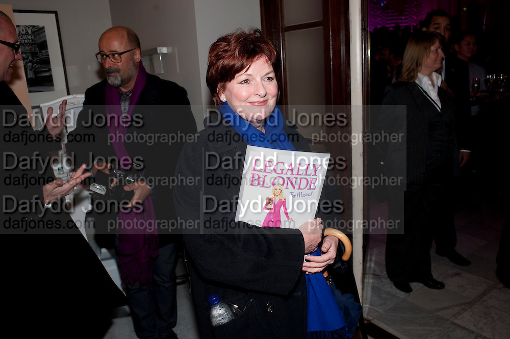 BRENDA BLETHYN, Savoy Theatre's Legally Blonde- The Musical,  Gala night. After-party at the Waldorf Hilton. London. 13 January 2010. *** Local Caption *** -DO NOT ARCHIVE-© Copyright Photograph by Dafydd Jones. 248 Clapham Rd. London SW9 0PZ. Tel 0207 820 0771. www.dafjones.com.<br /> BRENDA BLETHYN, Savoy Theatre's Legally Blonde- The Musical,  Gala night. After-party at the Waldorf Hilton. London. 13 January 2010.