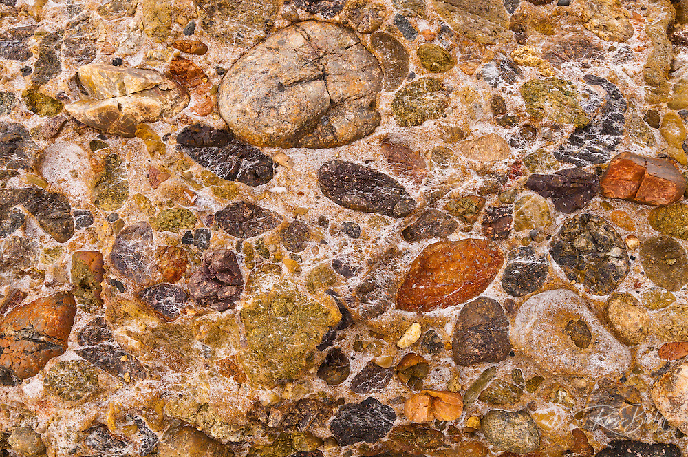 Rock patterns on Weston Beach, Point Lobos State Reserve, Carmel, California