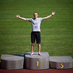 20120731: SLO, Athletics - Portrait of recently retired Matic Osovnikar, top world class sprinter