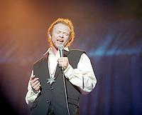 Mick Hucknall of Simply Red. The BRIT Awards 1993 <br /> Tuesday 16 Feb 1993.<br /> Alexandra Palace, London, England<br /> Photo: John Marshall - JM Enternational