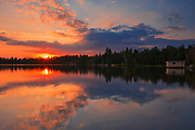 Sunrise on Star Lake<br />