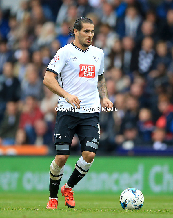 Derby County's Bradley Johnson