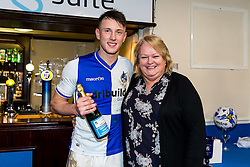 Man of the match Ollie Clarke of Bristol Rovers - Rogan Thomson/JMP - 28/01/2017 - FOOTBALL - Memorial Stadium - Bristol, England - Bristol Rovers v Swindon Town - Sky Bet League One.
