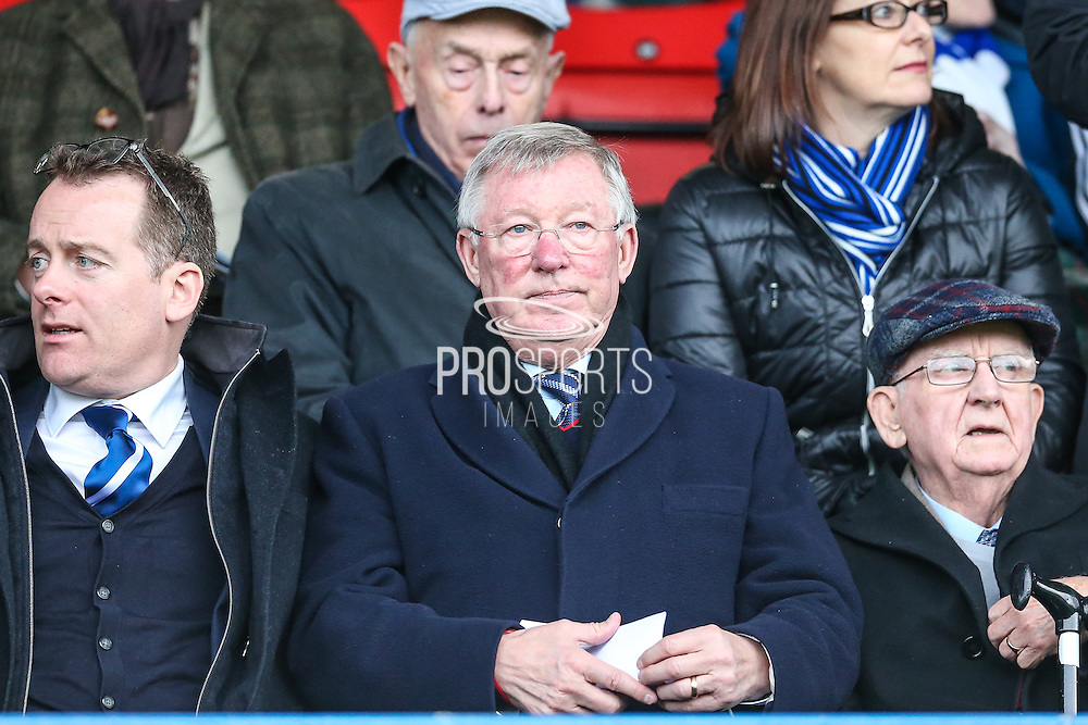 Sir Alex Ferguson in attendance during the Vanarama National League match between Macclesfield Town and Forest Green Rovers at Moss Rose, Macclesfield, United Kingdom on 12 November 2016. Photo by Shane Healey.
