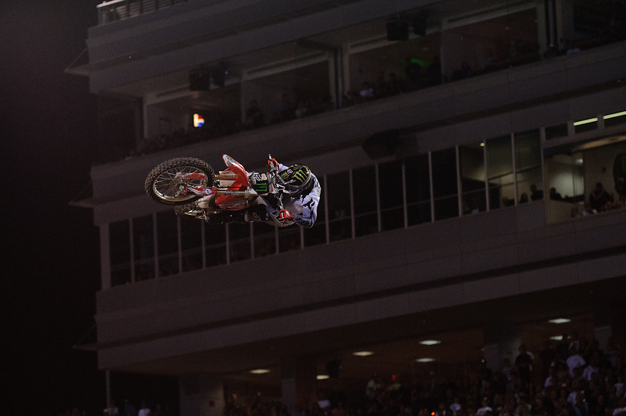 Monster Energy Cup.Sam Boyd Stadium.Las Vegas, Nevada.October 15, 2011