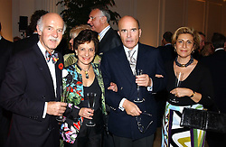 Left to right, MR & MRS ANTON MOSIMANN and MR & MRS CHRISTIAN HEPPE of Hildon water at a party hosted by Bentley motorcars held at The Orangery, Kensington Palace, London on 3rd November 2004.<br /><br />NON EXCLUSIVE - WORLD RIGHTS