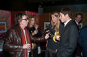 BILL WYMAN; SUZANNE WYMAN; JAMES ROTHSCHILD, Bitch- Auction and fundraiser for the dog charity Care. The Cuckoo Club, London. 7 December 2010. -DO NOT ARCHIVE-© Copyright Photograph by Dafydd Jones. 248 Clapham Rd. London SW9 0PZ. Tel 0207 820 0771. www.dafjones.com.
