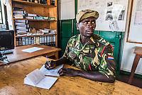 Patrol report writing , Majete Wildlife Reserve, Malawi.