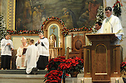Ordination of Jason Blahnik, Jan. 3, 2009, at St. Francis Xavier Cathedral, Green Bay. Bishop David Ricken ordained Fr. Jason Blahnik to the priesthood at an ordination Mass.