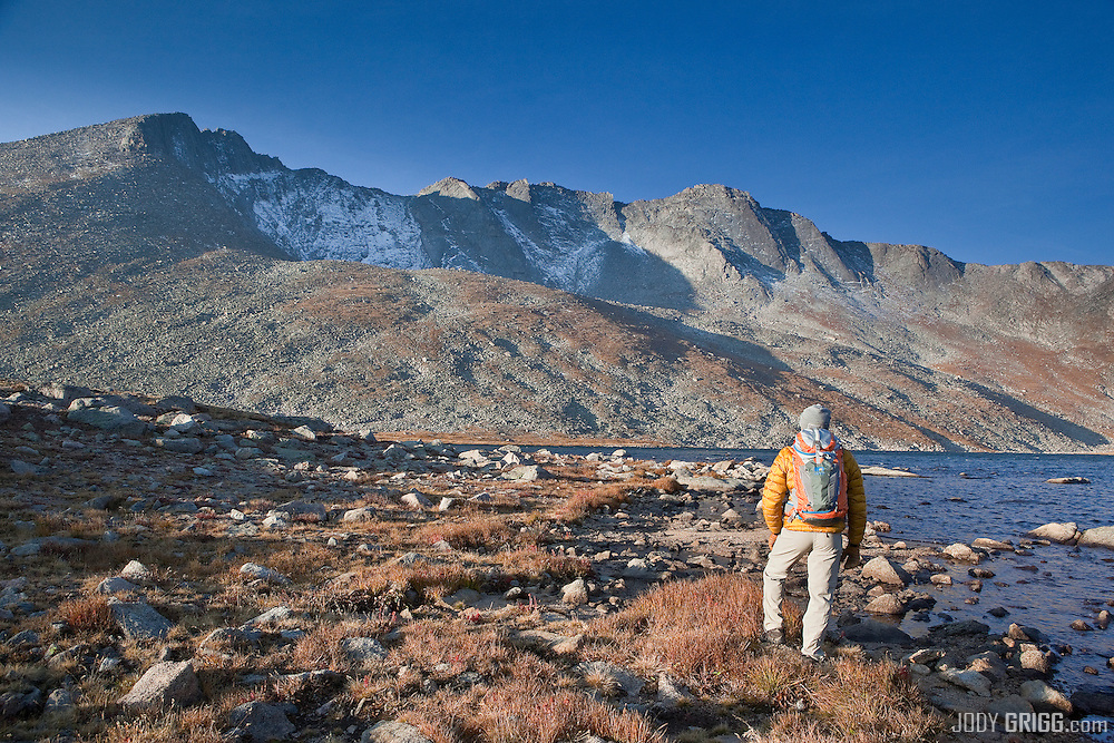 Summit Lake - Mount Evans Wilderness Area