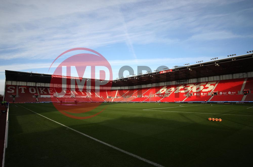 General view of the Bet365 Stadium - Mandatory by-line: Jack Phillips/JMP - 19/11/2016 - FOOTBALL - Bet365 Stadium - Stoke-on-Trent, England - Stoke City v Bournemouth - Premier League