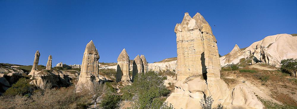 Turquie, Anatolie Centrale, Cappadoce, Vallee de Goreme // Turkey, Central Anatolia, Cappadocia, Goreme valley