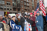 TRUMP SUPPORTERS FROM TEXAS, Public going to the Inauguration of Donald Trump and demonstrators and various entrances,  Washington DC. 20  January 2017