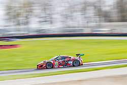 May 4, 2018 - Lexington, Ohio, United States of America - The Michael Shank Racing Acura NSX GT3 races through the turns at the Acura Sports Car Challenge at Mid Ohio Sports Car Course in Lexington,Ohio. (Credit Image: © Walter G Arce Sr Asp Inc/ASP via ZUMA Wire)