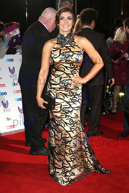 Kym Marsh, Pride of Britain Awards, The Grosvenor House Hotel, London UK, 31 October 2016, Photo by Richard Goldschmidt