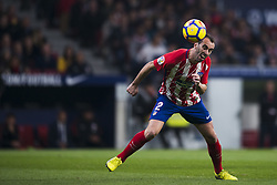 November 18, 2017 - Madrid, Madrid, Spain - Godin during the match between Atletico de Madrid and Real Madrid, week 12 of La Liga at Wanda Metropolitano stadium, Madrid, SPAIN - 18th November of 2017. (Credit Image: © Jose Breton/NurPhoto via ZUMA Press)