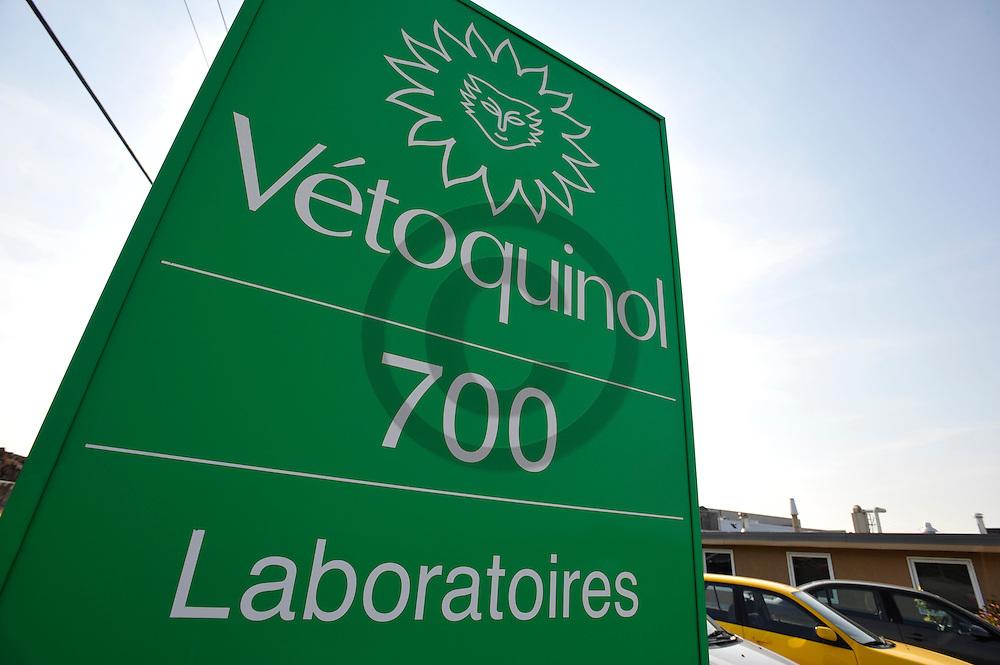 27/09/08 - PRINCEVILLE - QUEBEC - CANADA - Site de production pharmaceutique de produits veterinaires VETOQUINOL - Photo Jerome CHABANNE