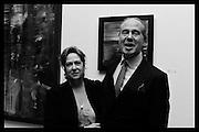 MR. AND MRS. ALEXANDER FOYLE, New Work: William Foyle, Royal College of art. Kensington Gore, London.  1 December 2015