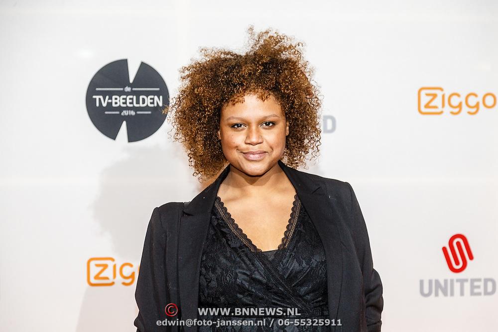 NLD/Amsterdam/20160307 - TV Beelden 2016, Talisia Misiedjan
