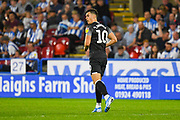 Tom Lawrence of Derby County (10) during the EFL Sky Bet Championship match between Huddersfield Town and Derby County at the John Smiths Stadium, Huddersfield, England on 5 August 2019.