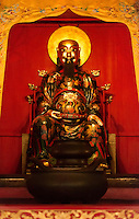 Buddha statue at Foshan Ancestor Temple altar in Foshan, Guangdong, China 2016