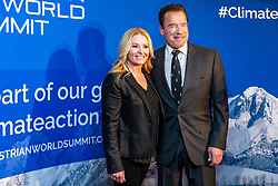 23.01.2020, Country Club, Reith, AUT, FIS Weltcup Ski Alpin, Charity Dinner und Auktion, im Bild v.l. Tochter Christina Maria Aurelia mit ihrem Vater Arnold Schwarzenegger // f.l. Christina Maria Aurelia an her father Arnold Schwarzenegger during a charity dinner and auction as a part of the FIS Ski Alpine World Cup at the Country Club in Reith, Austria on 2020/01/23. EXPA Pictures © 2020, PhotoCredit: EXPA/ Johann Groder