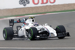 19.04.2014, International Circuit, Shanghai, CHN, FIA, Formel 1, Grand Prix von China, Qualifying Tag, im Bild Valtteri Bottas (FIN) Williams FW36. // during the Qualifyingday of Chinese Formula One Grand Prix at the International Circuit in Shanghai, China on 2014/04/19. EXPA Pictures © 2014, PhotoCredit: EXPA/ Sutton Images/ Mina<br /> <br /> *****ATTENTION - for AUT, SLO, CRO, SRB, BIH, MAZ only*****