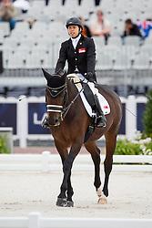 Maximillian Tan, (SIN), Don's Day Dream - Individual Test Grade Ib Para Dressage - Alltech FEI World Equestrian Games™ 2014 - Normandy, France.<br /> © Hippo Foto Team - Jon Stroud <br /> 25/06/14
