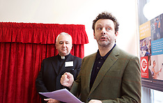 Michael Sheen opens community bank, Edinburgh, 15052018