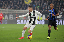 December 7, 2018 - Turin, Turin, Italy - Cristiano Ronaldo #7 of Juventus FC in action during the serie A match between Juventus FC and FC Internazionale Milano at Allianz Stadium on December 07, 2018 in Turin, Italy. (Credit Image: © Giuseppe Cottini/NurPhoto via ZUMA Press)