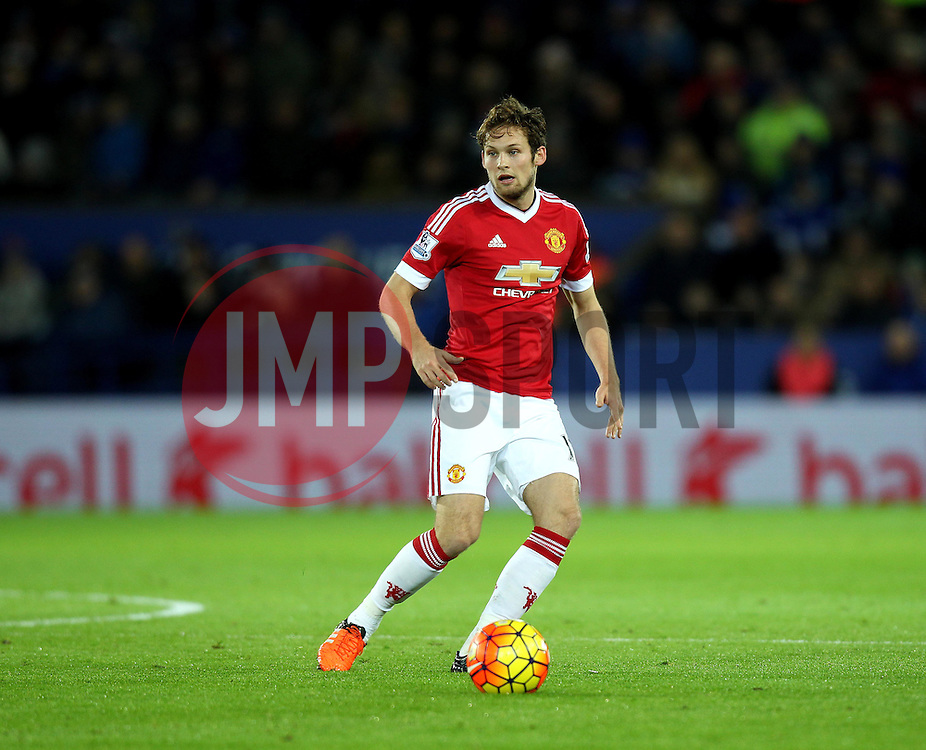 Daley Blind of Manchester United - Mandatory byline: Robbie Stephenson/JMP - 28/11/2015 - Football - King Power Stadium - Leicester, England - Leicester City v Manchester United - Barclays Premier League
