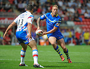 Warrington Wolves Joe Westerman during the Ladbrokes Challenge Cup Semi-Final  match Warrington Wolves -V- Wakefield Trinity Wildcats at , Leigh, Greater Manchester, England on Saturday, July 30, 2016. (Steve Flynn/Image of Sport)