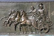 Bronze art at Achilleion Palace, Museo Achilleio, in Corfu, Greece