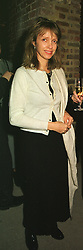 MISS SABRINA GUINNESS a former close friend of HRH The Prince of Wales, at a reception in London on 16th March 1999.MPI 24 WOLO