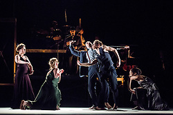 © Licensed to London News Pictures. 05/06/2013. Clod Ensemble's Zero, London Premier. Sadler's Wells Theatre, London. Photo credit: Tony Nandi/LNP