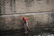 A daily cleaning of Cupa street, just in front of Baobab gates.