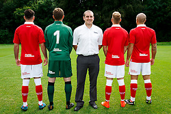 Poplar Insulation Sponsor Photo - Photo mandatory by-line: Rogan Thomson/JMP - 07966 386802 - 04/08/2014 - SPORT - FOOTBALL - BCFC Training Ground, Failand - Bristol City, 2014/15 Team Photos.