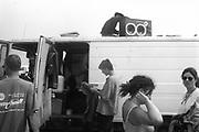 Dan's Truck, The Mother Festival, Somerset, 1995