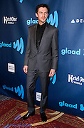 Dan Stevens attends the 24th Annual GLAAD Media Awards at the Marriott Hotel in New York City, New York on March 16, 2013.