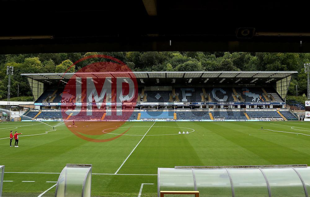 Adams Park, home of Wycombe Wanderers - Mandatory by-line: Robbie Stephenson/JMP - 09/08/2016 - FOOTBALL - Adams Park - High Wycombe, England - Wycombe Wanderers v Bristol City - EFL League Cup