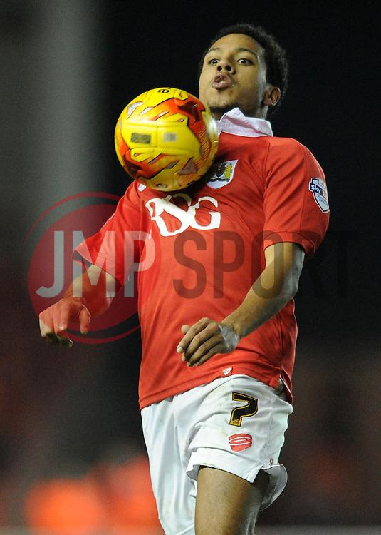 Bristol City's Korey Smith - Photo mandatory by-line: Dougie Allward/JMP - Mobile: 07966 386802 - 10/02/2015 - SPORT - Football - Bristol - Ashton Gate - Bristol City v Port Vale - Sky Bet League One