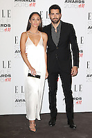 Cara Santana, Jesse Metcalfe, ELLE Style Awards 2016, Millbank London UK, 23 February 2016, Photo by Richard Goldschmidt