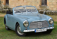 14/01/16 - SARLAT - DORDOGNE - FRANCE - Essais SIMCA 8 Sport de 1950 - Photo Jerome CHABANNE
